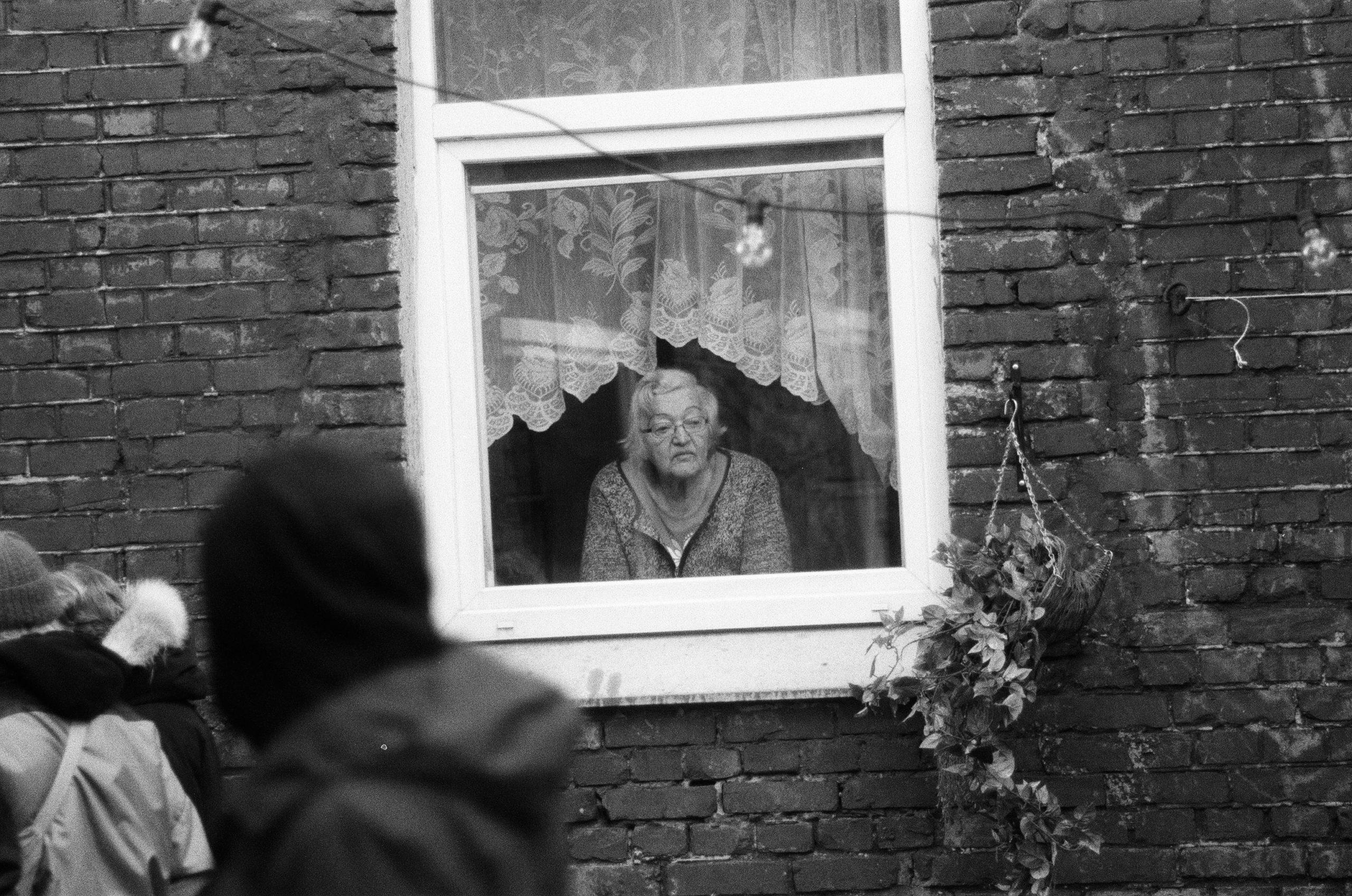 demanding old lady